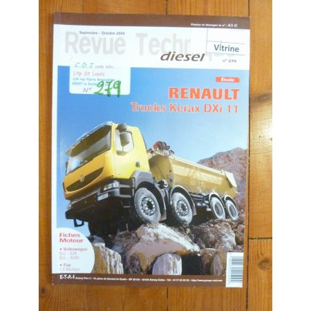 Kerax DXi 11 Revue Technique PL Renault RVI