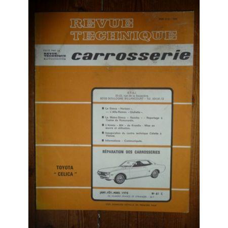 Celica Revue Technique Carrosserie Toyota