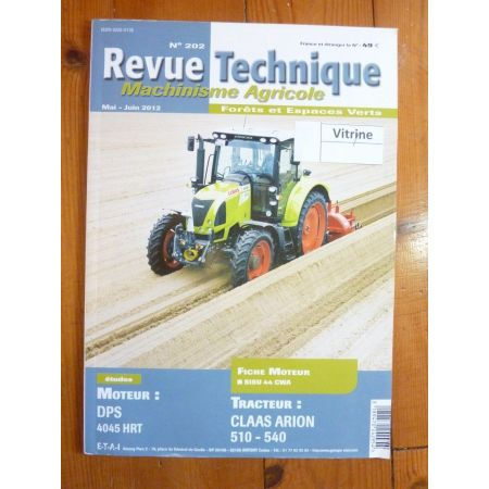 ARION 510 à 540 Revue Technique Agricole Claas
