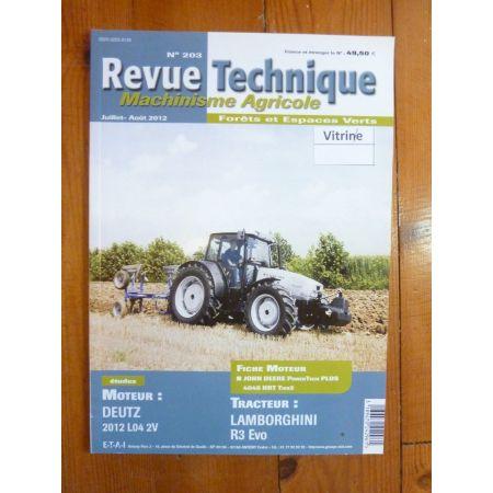 R3 EVO Revue Technique Agricole Lamborghini