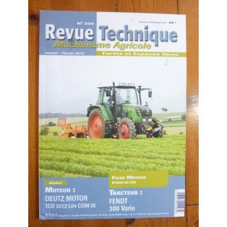 300 Vario Revue Technique Agricole Fendt