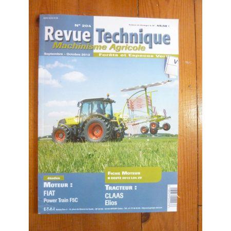 Elios Revue Technique Agricole Claas