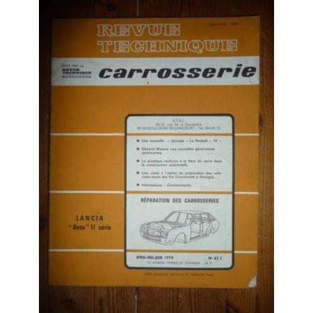 Beta II Revue Technique Carrosserie Lancia