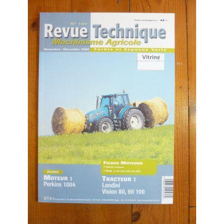 Vision 80 90 100 Revue Technique Agricole Landini