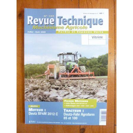 Agrofarm 85 100 Revue Technique Agricole Deutz Fahr