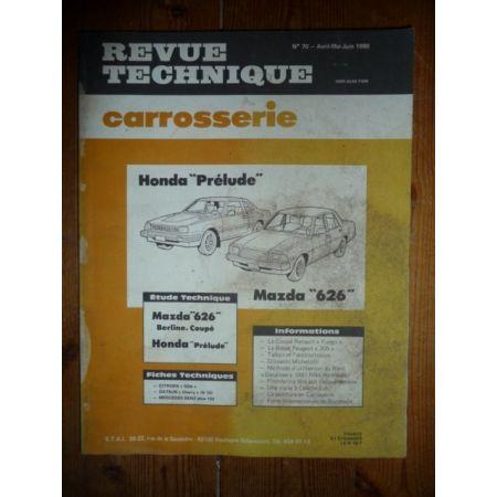 Prelude 626 Revue Technique Carrosserie Honda Mazda
