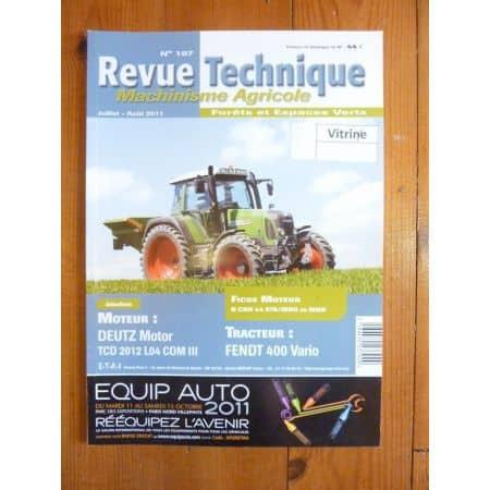 400 Vario Revue Technique Agricole Fendt