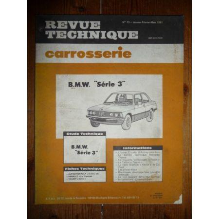 RTC0073C Revue technique Carrosserie BMW Série 3