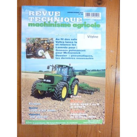 6120 à 6620 Revue Technique Agricole John Deere