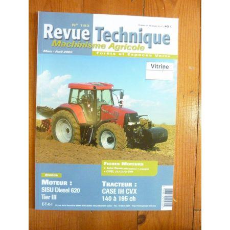 CVX 140cv à 195cv Revue Technique Agricole IH