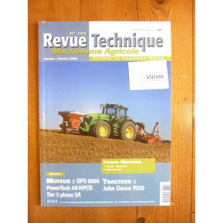 7030 Revue Technique Agricole John Deere