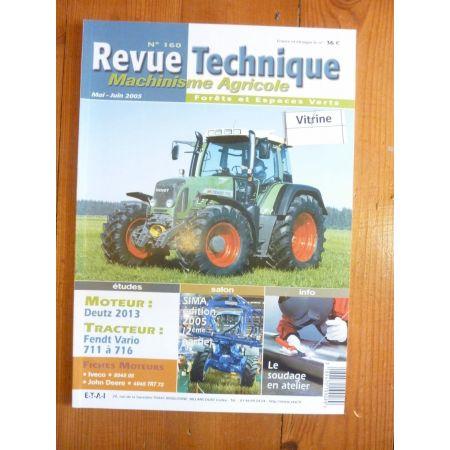 Vario 711 à 716 Revue Technique Agricole Fendt