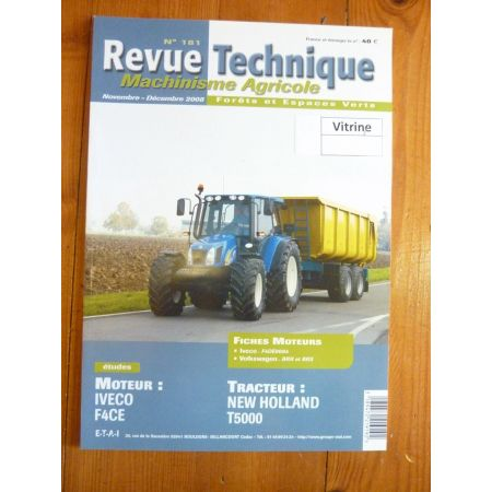 T5000 Revue Technique Agricole New Holland