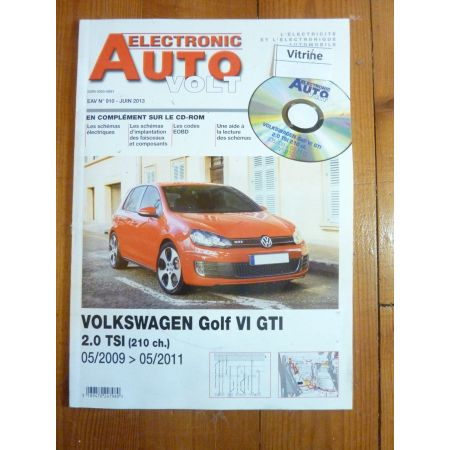 Golf GTI Revue Technique Electronic Auto Volt VW