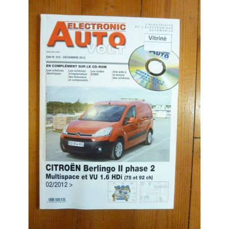 berlingo II Revue Technique Electronic Auto Volt Citroen