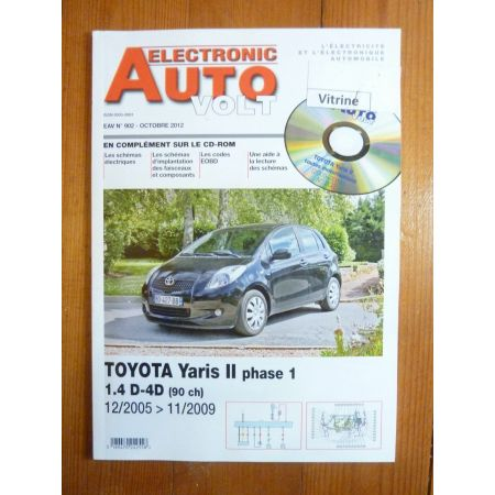 Yaris 06-09 Revue Technique Electronic Auto Volt Toyota