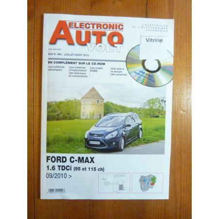 CMAX D Revue Technique Electronic Auto Volt Ford