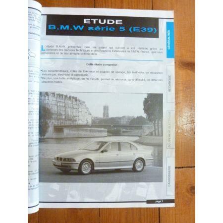 RLEA362.0 Revue technique BMW Série 5 (E39)