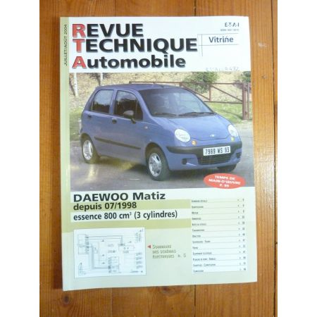 Matiz 98- Revue Technique Daewoo