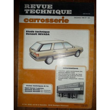 Nevada Revue Technique Carrosserie Renault