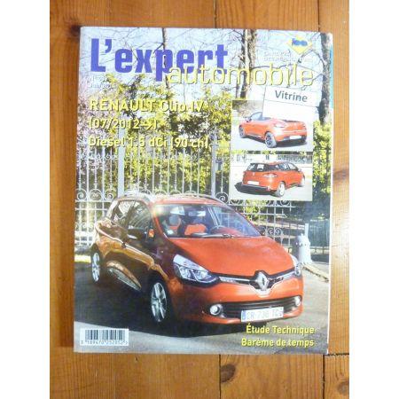 Clio IV Die 12- Revue Technique Renault