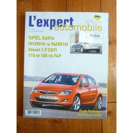 Astra Die 10-12 Revue Technique Opel