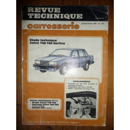 740 760 Revue Technique Carrosserie Volvo