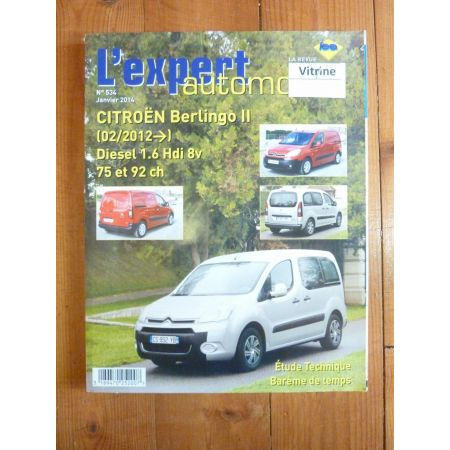 Berlingo D 12- Revue Technique Citroen