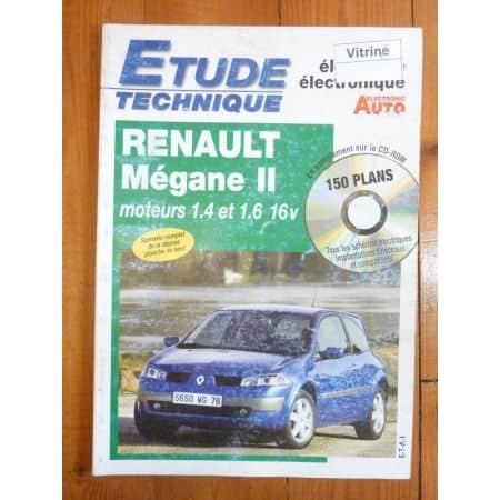 Megane II 16v Revue Technique Electronic Auto Volt Renault