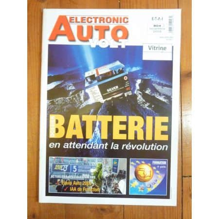 Batterie Revue Technique Electronic Auto Volt