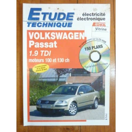 Passat 1.9 TDI Revue Technique Electronic Auto Volt Volkswagen