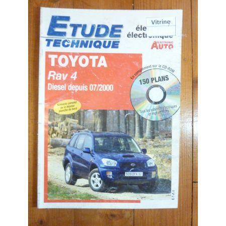 Rav4 D Revue Technique Electronic Auto Volt Toyota