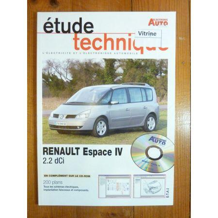 Espace IV dCi Revue Technique Electronic Auto Volt Renault