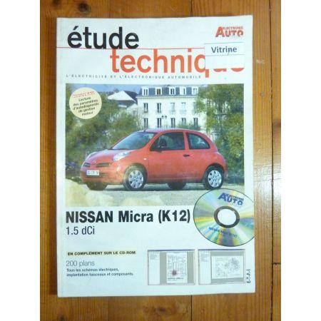 Micra 1.5 dCi Revue Technique Electronic Auto Volt Nissan