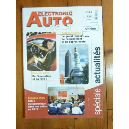 Actus Revue Technique Electronic Auto Volt