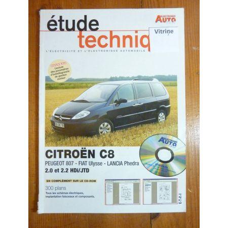 C8 Ulysse Phedra Revue Technique Electronic Auto Volt Citroen