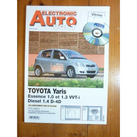 Yaris Revue Technique Electronic Auto Volt Toyota