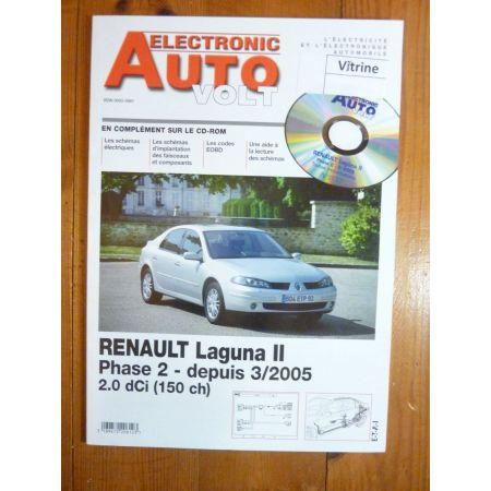 Laguna II 05- Revue Technique Electronic Auto Volt Renault