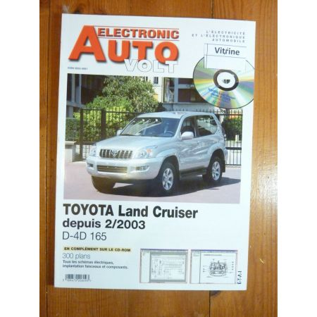 Land cruiser 03- Revue Technique Electronic Auto Volt Toyota