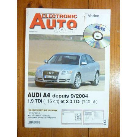 A4 TDi 04- Revue Technique Electronic Auto Volt Audi