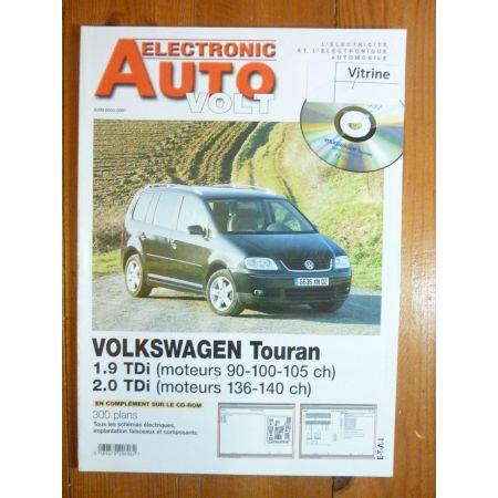 Touran TDi Revue Technique Electronic Auto Volt Volkswagen