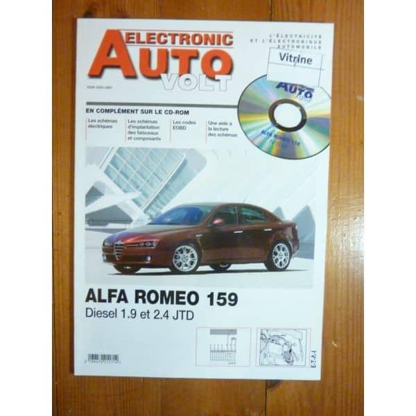 159  JTD Revue Technique Electronic Auto Volt Alfa Romeo