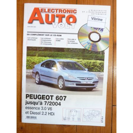 607  -04 Revue Technique Electronic Auto Volt Peugeot