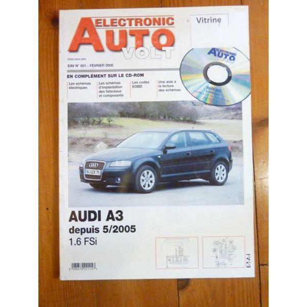 A3 05- Revue Technique Electronic Auto Volt Audi