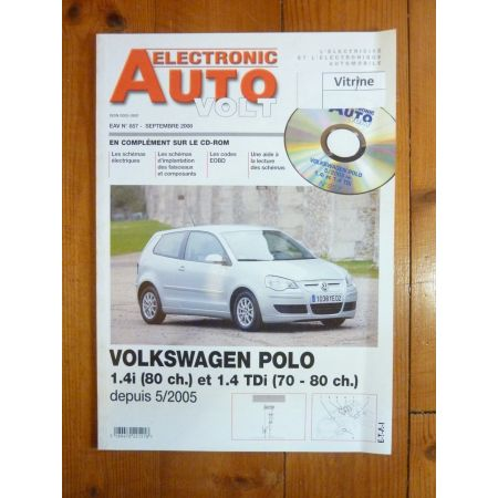 Polo 05- Revue Technique Electronic Auto Volt Volkswagen