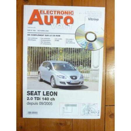 Leon 2.0TDi 05- Revue Technique Electronic Auto Volt Seat