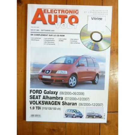 Galaxy Alhambra Sharan Revue Technique Electronic Auto Volt Ford