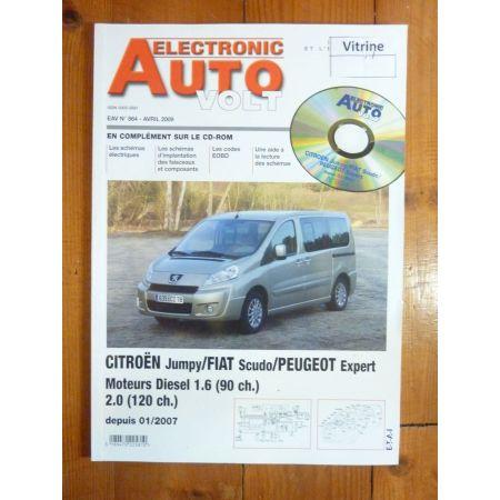 jumpy Scudo Expert 07- Revue Technique Electronic Auto Volt Citroen
