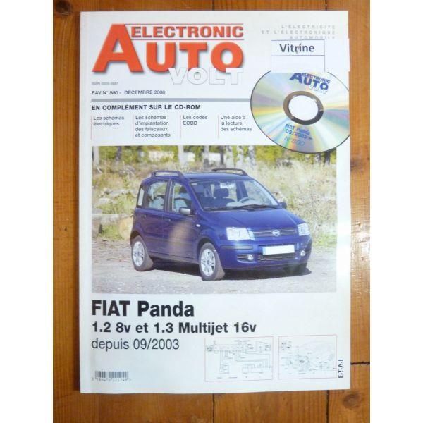 Panda 03- Revue Technique Electronic Auto Volt Fiat