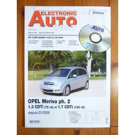 Meriva D Revue Technique Electronic Auto Volt Opel